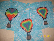 Handmade Tie Dye shirt HOT AIR BALLOON - pick your size