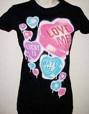 Lucky 13 Love Me, Hate Me Girlfriend TShirt Valentine's