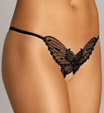 * Sexy Butterfly Crotchless Crutchless G String Thong *