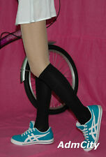Knee High Stretch Socks Available in Different Design Black One Size