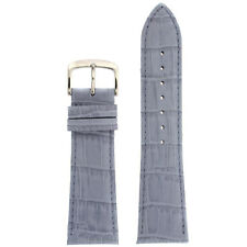 Watch Band  Genuine Leather  Lavender Alligator Grain