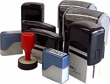 Personalised Rubber Stamp Self Inking 6 Sizes