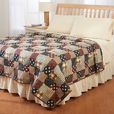Ashley Cooper Patriotic Country Print Quilt BRAND NEW