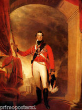 ARTHUR WELLESLEY THE FIRST DUKE OF WELLINGTON PAINTING BY THOMAS LAWRENCE REPRO