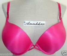Victorias Secret Miraculous Push-Up Bra Fuchsia 34, 36
