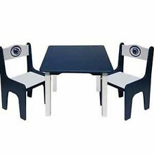 NCAA Kids Table & Chairs Set - 18 Schools Available NEW