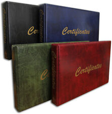 Family History Certificate Binder