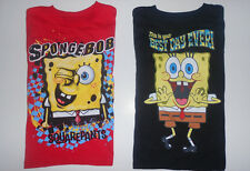 NWT Nickelodeon Boys SpongeBob Squarepants Shirt M, L