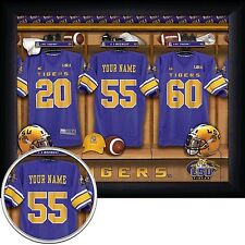 NCAA Football 11x14 FRAMED Locker Room Print 30 TEAMS - NEW
