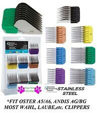 A5 Clipper Blade Stainless Steel Snap On Universal GUIDE COMB*FIT Andis Wahl*NEW
