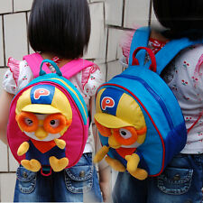 Birthday&Entrance Gift for baby Animation Pororo backpack Toy bag -Blue/Pink