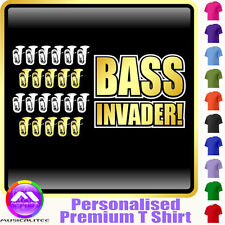 Tuba Bass Invader - Personalised Music T Shirt 5yrs - 6XL by MusicaliTee