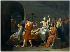 The Death of Socrates POSTER. Fine Graphic Art Design. Room Home Wall Art. 2020