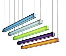 """10"""" X 48"""" Fluorescent Tube Strip Lighting Filter Gel Change Colour Cut to Size"""