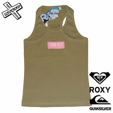 QUIKSILVER ROXY WOMENS VEST GREEN TECHNICAL DIVISION RRP £25 SURF BNWT BRAND NEW