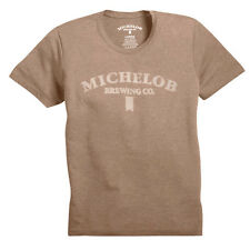 Michelob Brewing Company Burnout T-Shirt 100% Cotton New in Bag Free Shipping