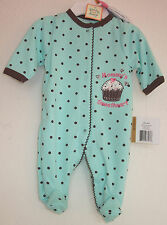 Little Me Baby Coverall, Baby Girl Footie and Friends Coverall