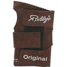Robbys Original Vinyl Bowling Glove/Wrist Support - Brown
