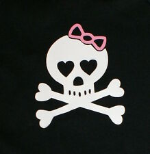 Funny Rock Baby Infant Tank Top NWT Free Shipping to USA Bow Skull Crossbones