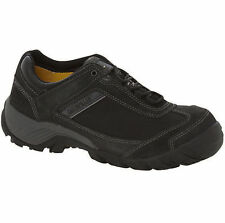 MENS BLACK COFRA SAFETY WORK BOOTS SHOES TRAINERS STEEL TOE CAPS RRP £29.99