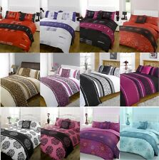 5pc Bed in a Bag Bedding Duvet Quilt Cover Set in Single, Double, King and Super