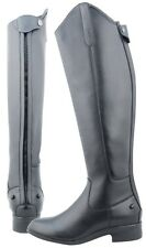 21606 DUBLIN ON AIR STRETCH FIELD BOOTS Black NEW in BOX!