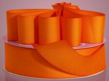 ORANGE Grosgrain Ribbon ASSORTED WIDTHS Sewing and Decorating as low as $0.11