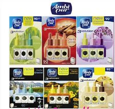 AMBI PUR 3 VOLUTION REFILLS PLUG IN AIR FRESHNER FRAGRANCE REFILL DIFFUSER NEW