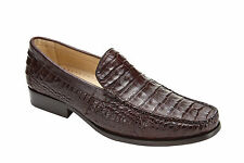 NIB Belvedere Villa in Brown Crocodile