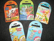 Carry Along Colouring Sets Me to You, Tinkerbell, Winnie Pooh, Night Garden, Bob