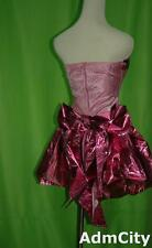 Admcity Pretty in Pink homecoming queen tube dress pink S M L