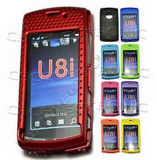 1x New 9 colos Mesh Perforated case cover for sonyericsson U8i Vivaz Pro