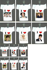 ONE DIRECTION HANGING MINI T-SHIRTS