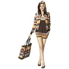 NEW! Missoni for Target Velour Hoodie Cardigan & Shorts w/ pockets Colore