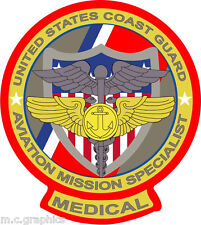 STICKER USCG AVIATION SPECIALIST