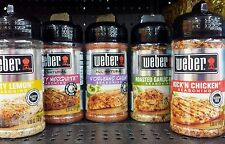 Weber Grill Creations Seasoning Spices Marinade Rub Small or Large ~ Pick One