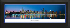 United States Deluxe Skyline Landmark Panoramic Double Matted & Framed A-H NEW