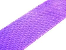 Purple (89) Cotton Webbing Belting Fabric Strap Bag Making Thick Quality