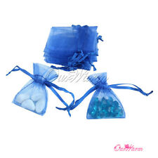 "100 Mini Strong Organza Pouch 2x2.7""(5x7cm) Wedding Favor Jewelry Gift Candy Bag"