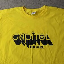 THE CAPITOL THEATRE CLASSIC T SHIRT RARE VINTAGE STYLE NJ  COLLECTIBLE YLW S-5XL