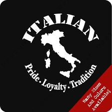 Italian Pride T Shirt Italy Tradition Country Flag Geek Funny Tee Football Guido