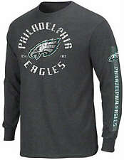 Philadelphia Eagles NFL Gridiron Touch Long Sleeve Shirt Big & Tall Sizes