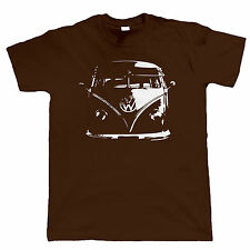 VW Camper Van T-Shirt - Split Screen Bus Veedub Volkswagen t shirt