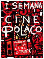 5610 Semana de cine Polaco. Movie POSTER. Walll Interior design. Decoration Art