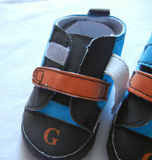orange blue boy leisure shoes toddler shoes baby boy shoes US size1,2,3