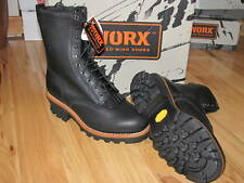 5471 NEW MENS RED WING BLACK STEEL TOE LOGGER WORK LOGGING BOOTS LEATHER