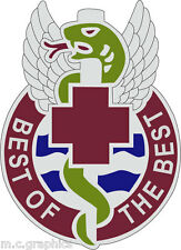 STICKER US ARMY UNIT  343rd Combat Support Hospital