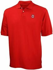Ohio State University OSU NCAA Red Polo Golf Shirt Big & Tall Sizes
