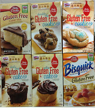 Betty Crocker Gluten Free Cake Cookie Bisquick Baking Mix ~ One Box