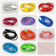 COLOR 1M 3FT USB 2.0 Micro data Charging Cable Cord For Samsung Galaxy NOTE LOT